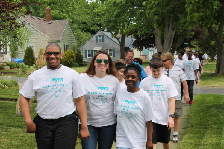 2016 Walk for Hope Fundraiser