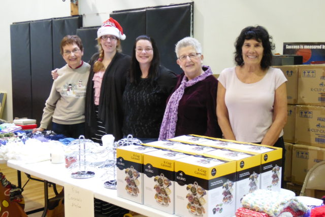 Call for Volunteers for Hope Hall's Annual Holiday Sale on Saturday, December 3rd, 2016