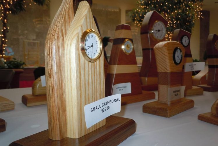 Annual Woodworking Holiday Sale Brings in Over $10,600 for Woodworking Program
