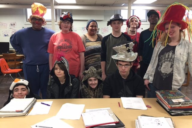 Hope Hall Donates $1 Each for Crazy Hat Day to Support The Leukemia and Lymphoma Society