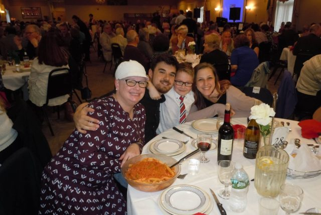 The Results are in – Over $13,500 Raised from this year's Experience Italy Fundraising Dinner