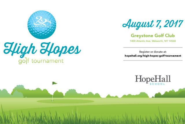 Golfer Spots are Filling up Fast for Hope Hall's 22nd Annual High Hopes Golf Tournament
