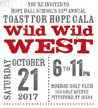 23rd Annual Toast for Hope Gala – October 21, 2017