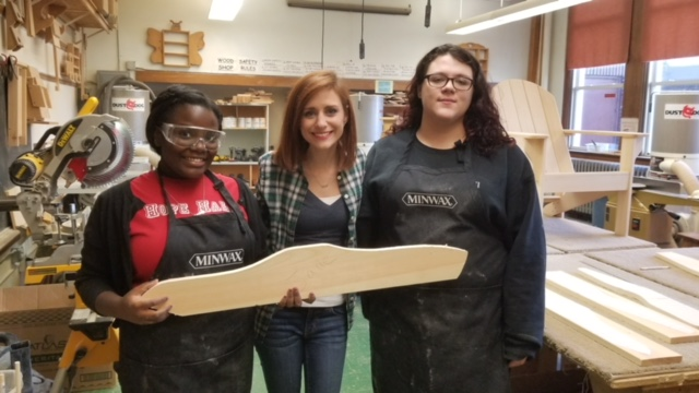 In Case You Missed It: Check Out Hope Hall's Woodworking Program in the News!