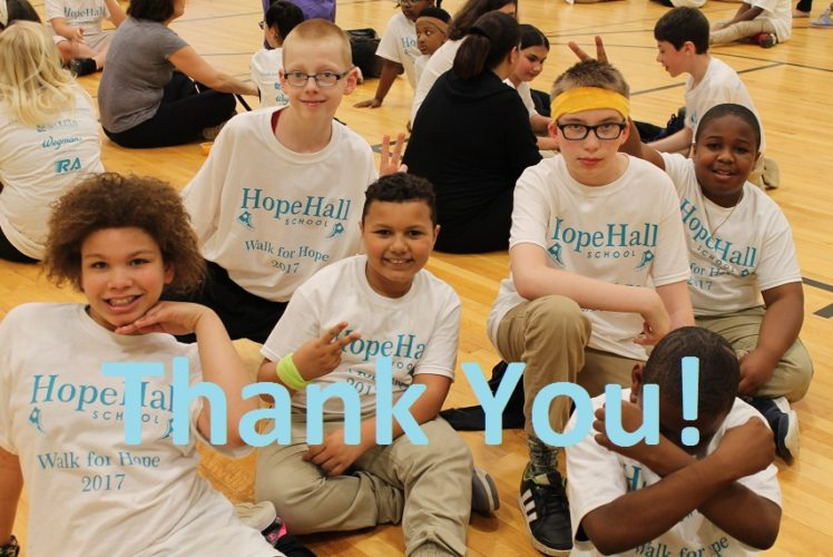ROC the Day Results are in! Hope Hall School Grossed $1,999 in Donations!