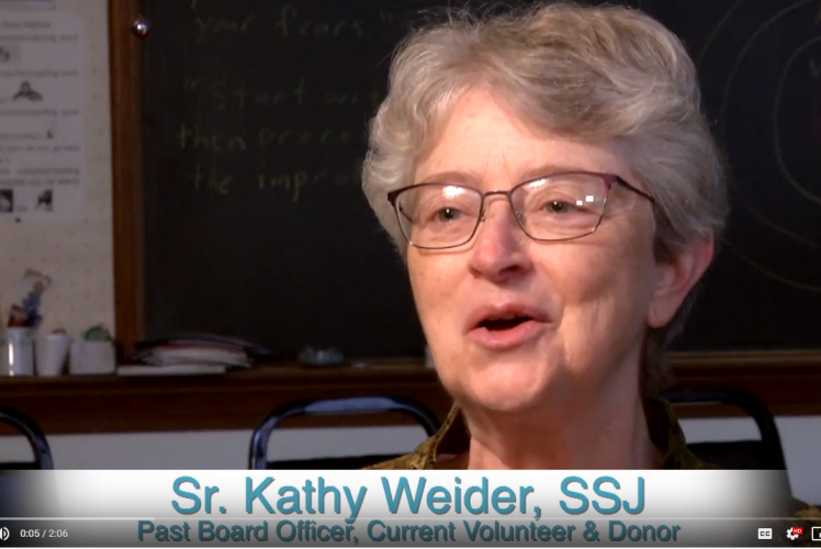 Watch Video : Sister Kathy Weider, S.S.J