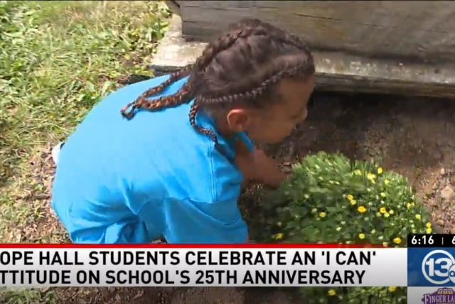 13WHAM: – Hope Hall students celebrate an 'I can' attitude on school's 25th anniversary